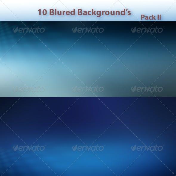 10 Blur Backgrounds Pack II