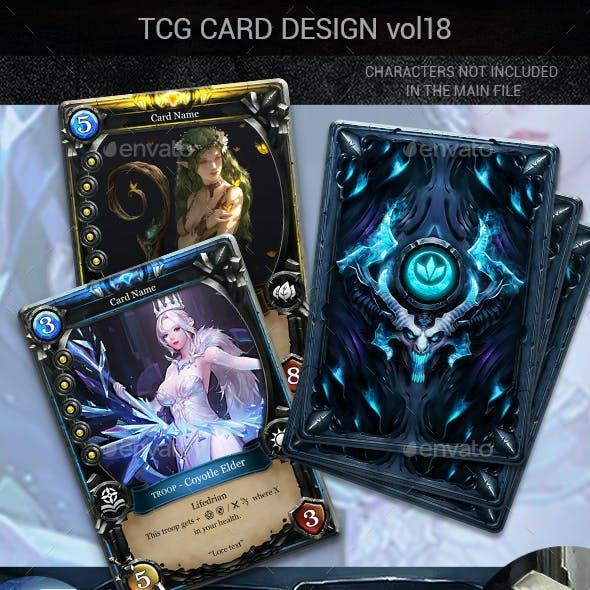 TCG Card Design Vol 18