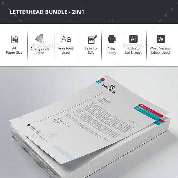 Letterhead Bundle - 3in1