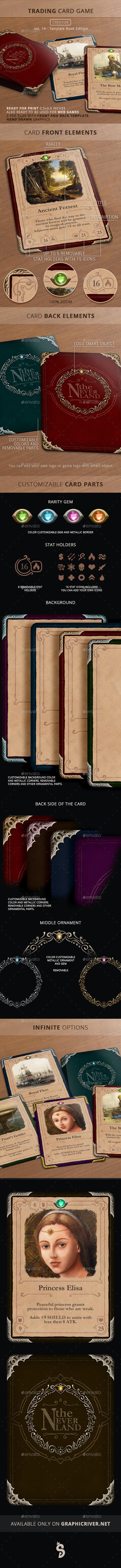 Trading Card Game Creator - Vol 14 - Fairytale Book