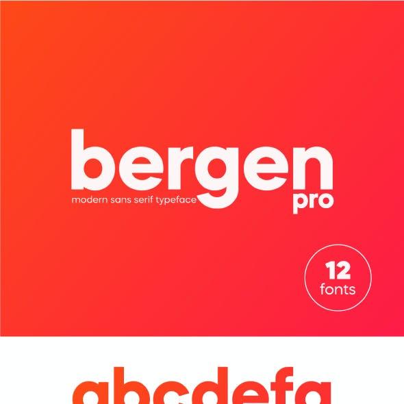 Bergen Sans Pro Font