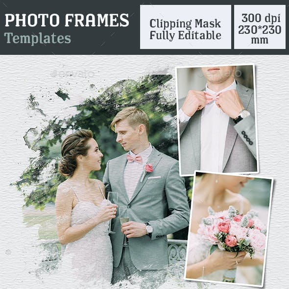 Photo Frames Template