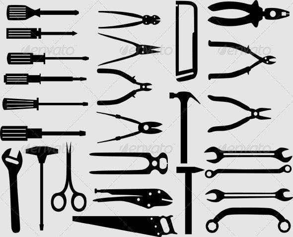 Hand Tools - Man-made Objects Objects