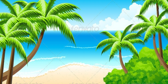 Tropical Background - Landscapes Nature