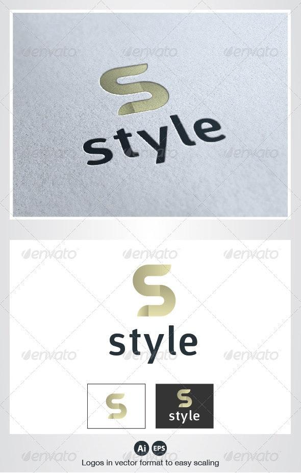 Style S Letter Logo - Letters Logo Templates