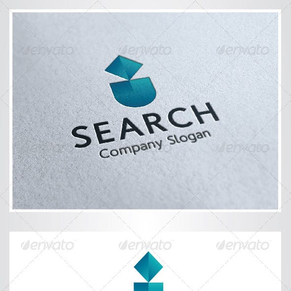 Search I Letter Logo