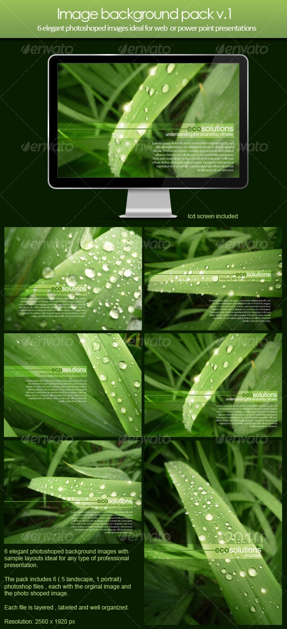 Image background pack v.1 - Backgrounds Graphics