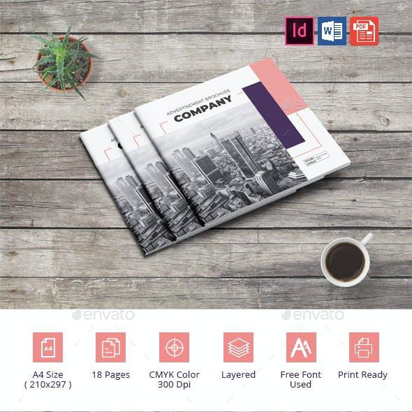 Square Advertising Company Brochure