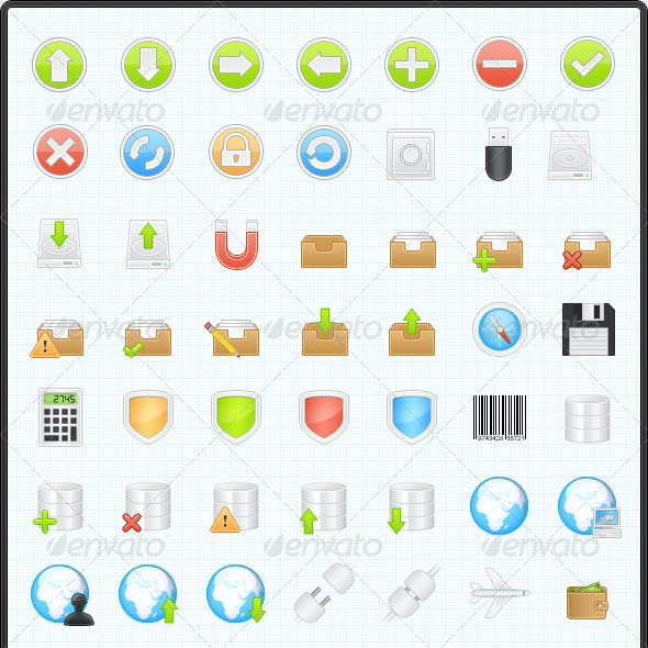 150 Business & Application Icons