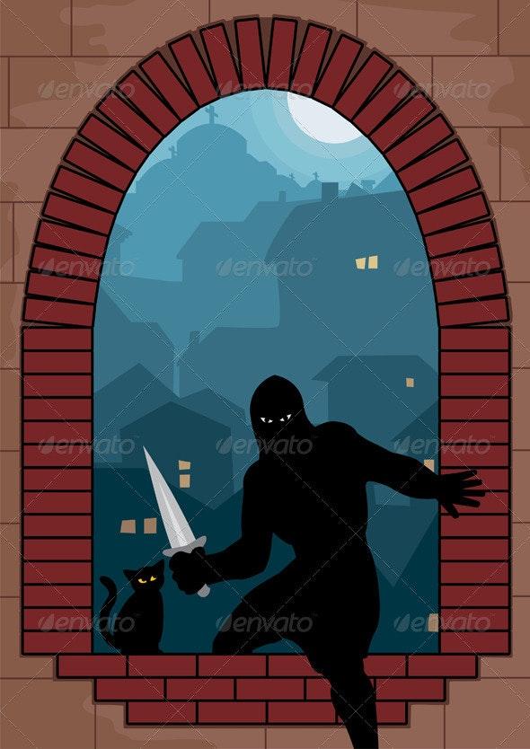 Assassin - Characters Vectors