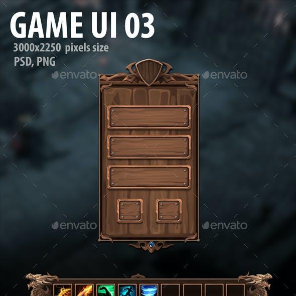 Game UI 03