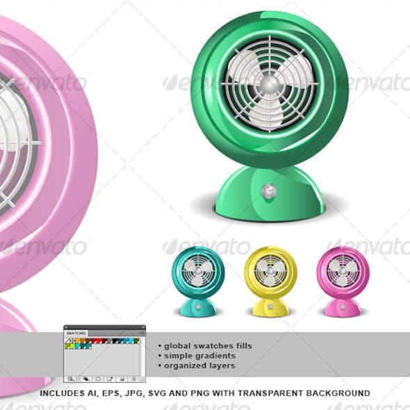 Retro Fan 01