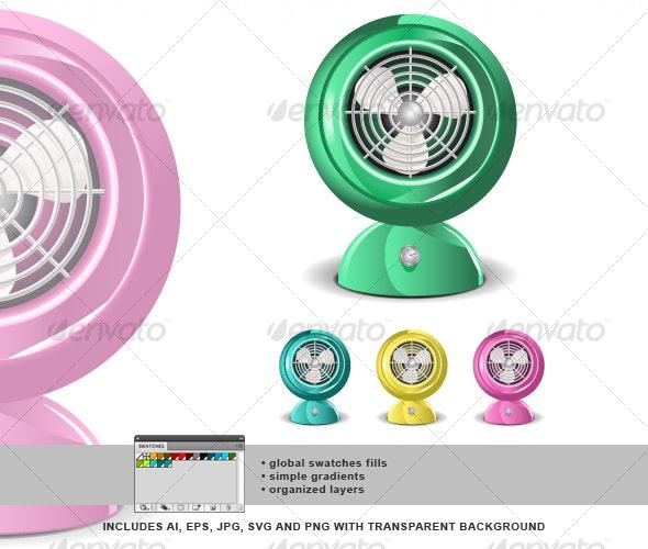 Retro Fan 01 - Retro Technology