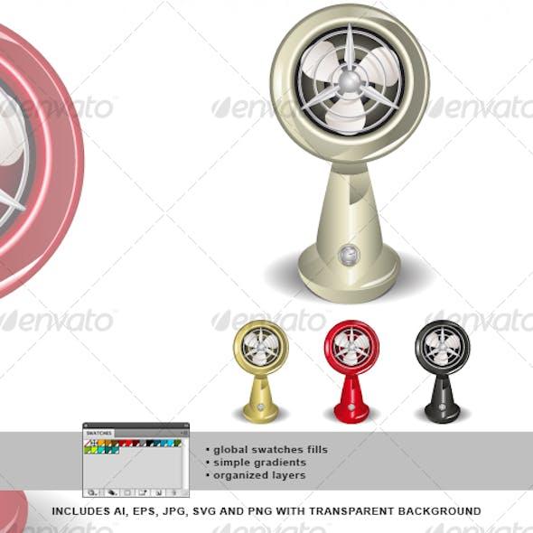 Retro Fan 02
