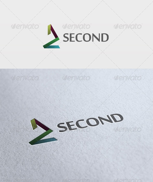 Second Logo - Numbers Logo Templates