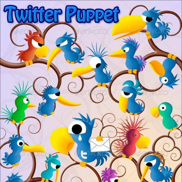 Twitter Puppet