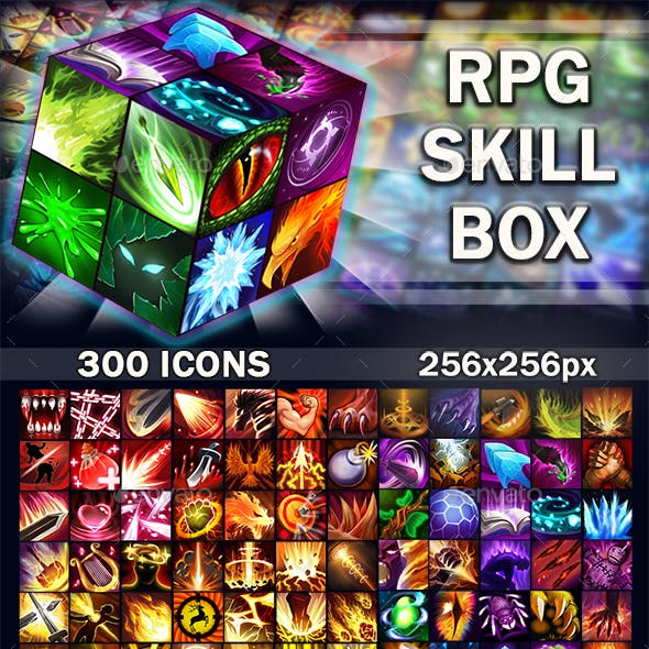 RPG Skill Box