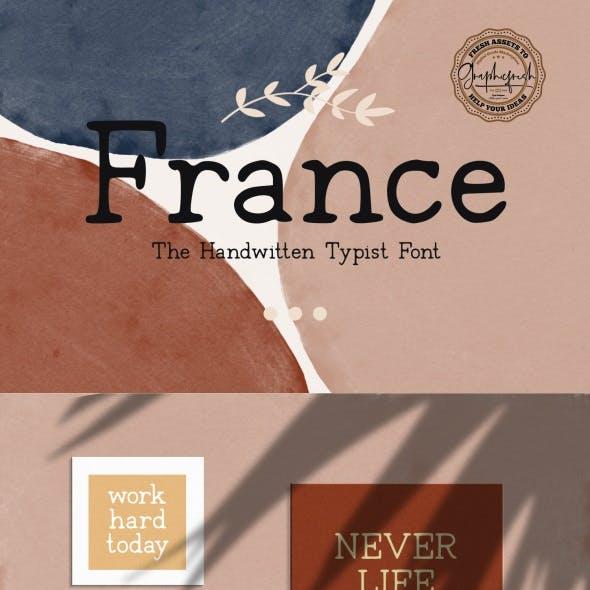 France Typeface Font