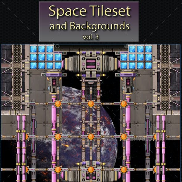 Space Scifi Tileset Vol.3