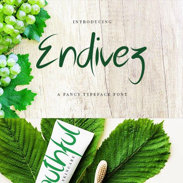 Endivez - Typeface Font