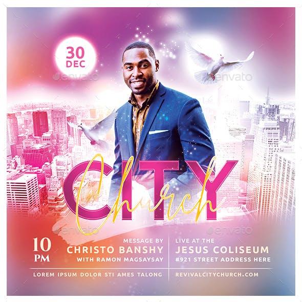 City Church Flyer