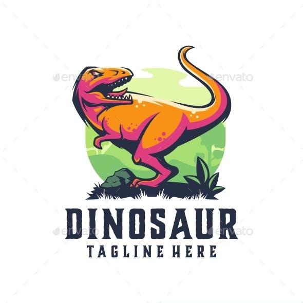 Dinosaur Mascot Logo Templates