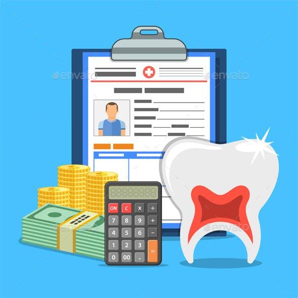 Dental Insurance Service Concept