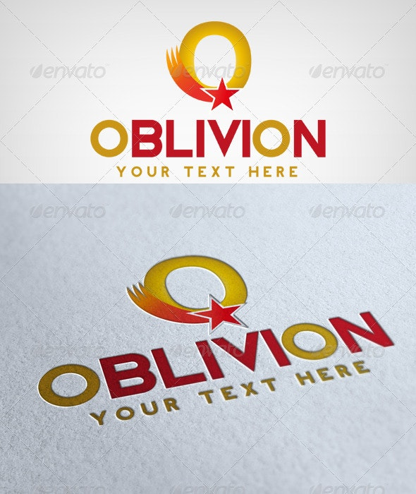 Oblivion Logo - Letters Logo Templates