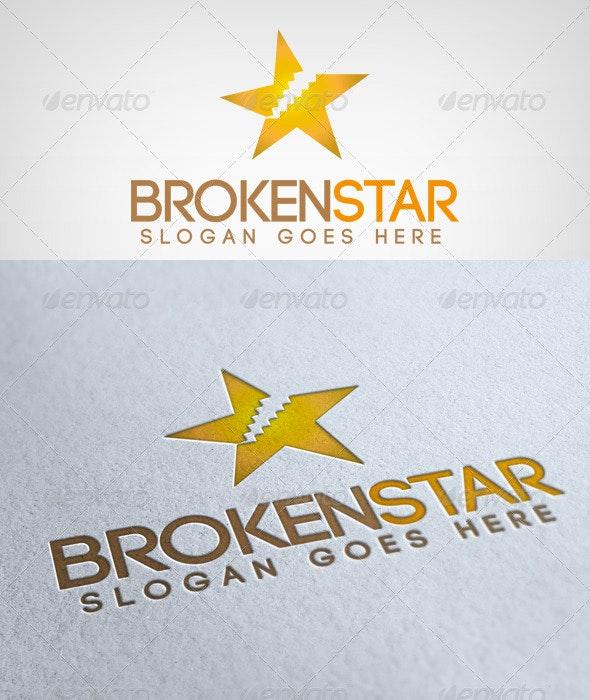 BrokenStar Logo - Objects Logo Templates