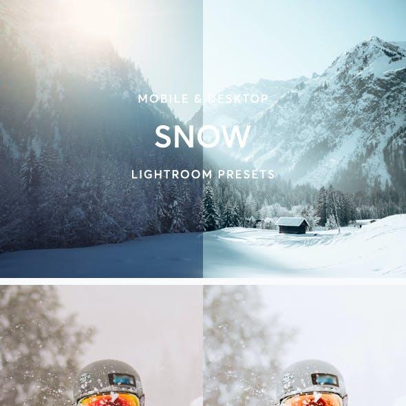 Snow Lightroom Presets