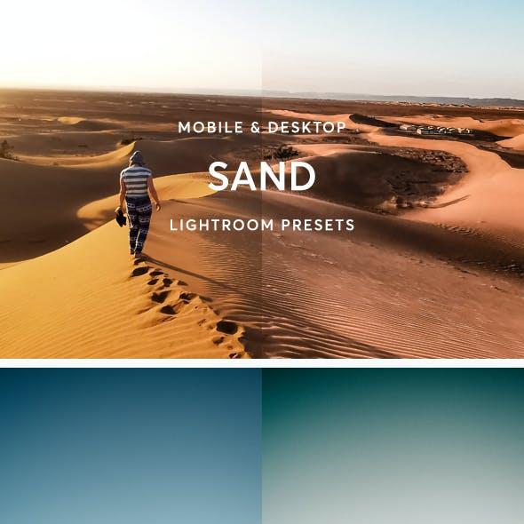 Sand Lightroom Presets