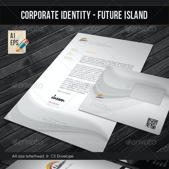 Corporate Identity Package - Future Island