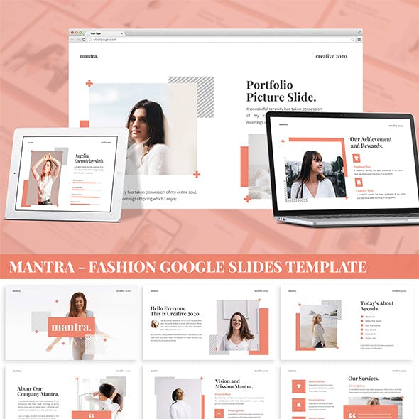 Mantra - Fashion Google Slides Template