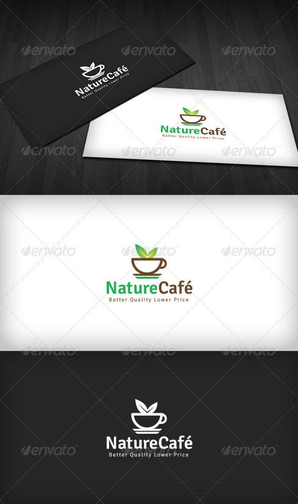 Nature Café Logo - Food Logo Templates
