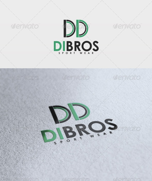 Dondot Logo - Letters Logo Templates
