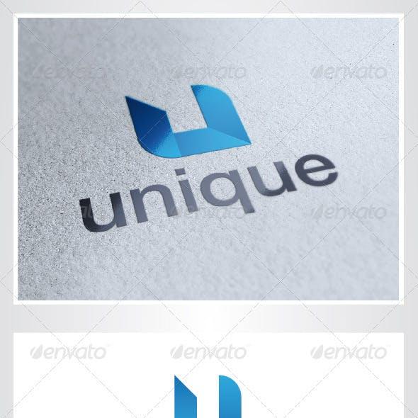 Unique U Letter Logo