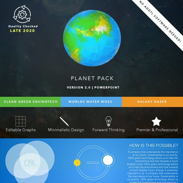 Planet Pack PowerPoint Presentation Bundle
