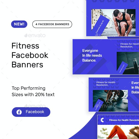 Fitness Facebook Banners