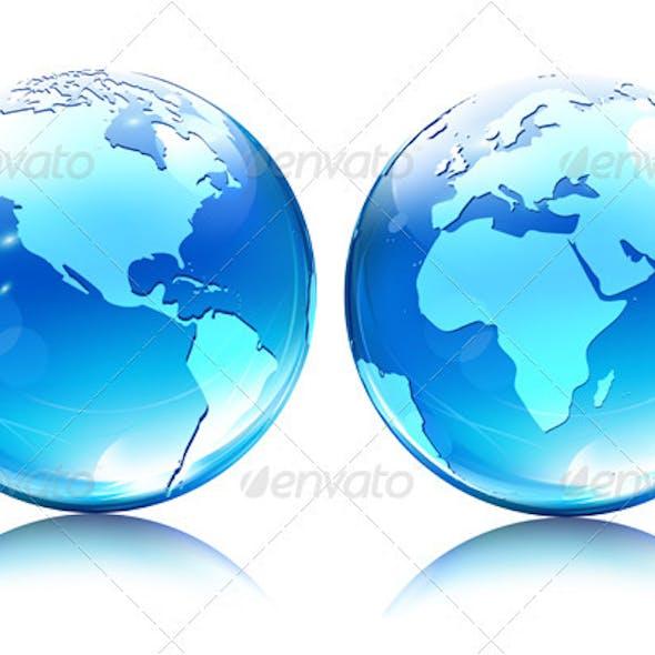 Earth Map Globes