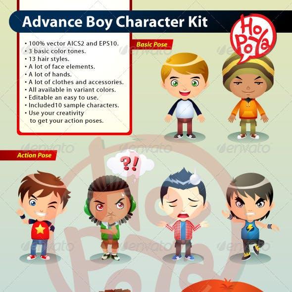 Advance Boy Character Kit