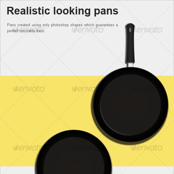 Realistic looking pans