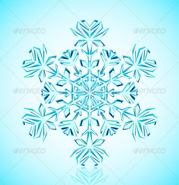 Snowflake crystal - Christmas Seasons/Holidays