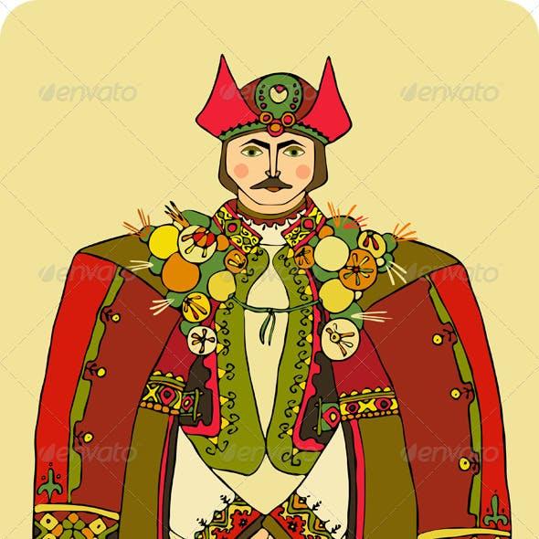 Man National Costume