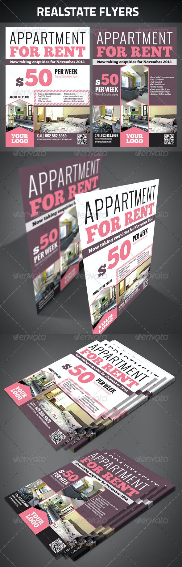 Realestate Flyers - Corporate Flyers