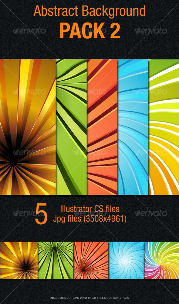 Abstract Background Pack 2 - Backgrounds Decorative