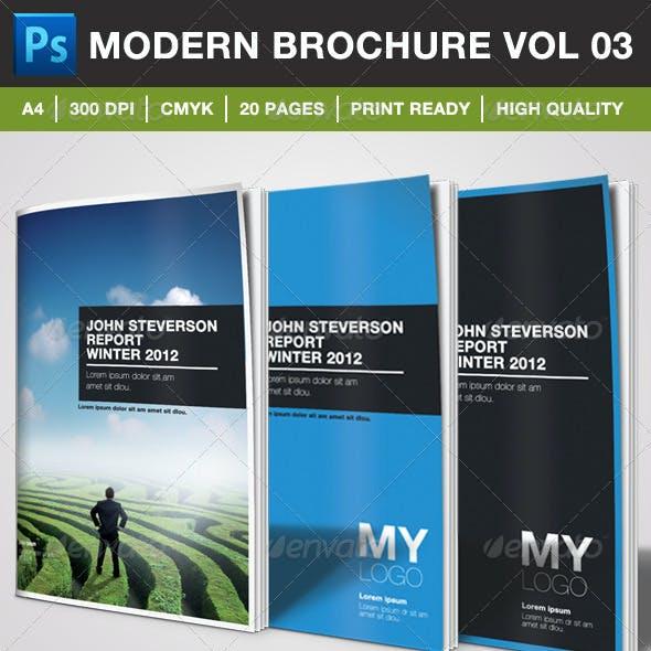 Modern Brochure Vol. 03
