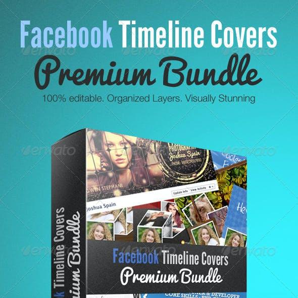 Facebook Creative Timeline Covers Premium Bundle