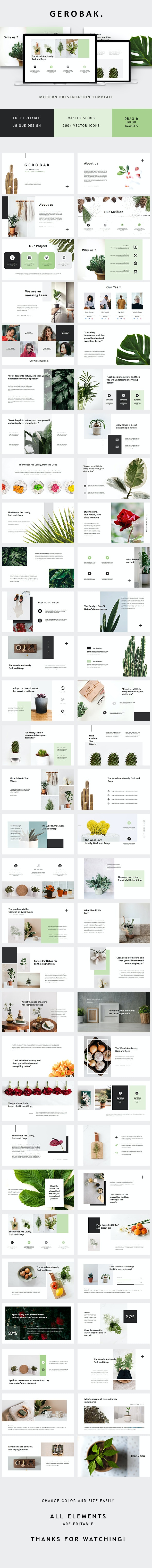 Gerobak Powerpoint Presentation Template - PowerPoint Templates Presentation Templates