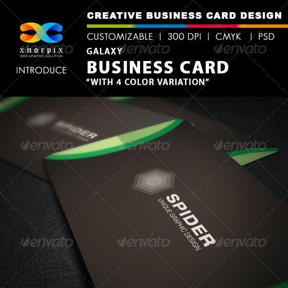 Galaxy Business Card
