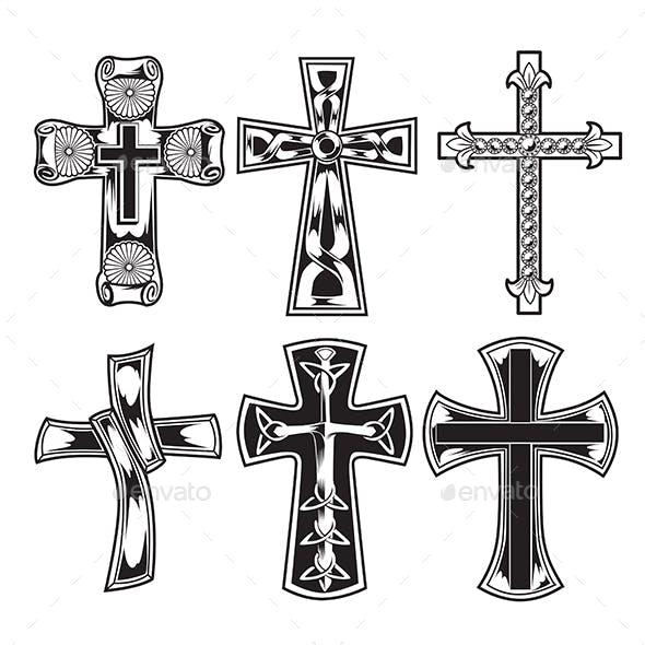 Christian Cross Wing